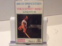 BRUCE SPRINGSTEEN, THE E-STREET BAND PART 4, Cassette Tape