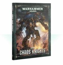 Codex Chaos Knights Warhammer 40K NEW