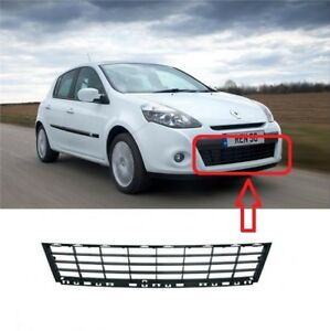 FOR RENAULT CLIO III 2009 - 2014 NEW FRONT BUMPER LOWER OUTER GRILLE 622541459R