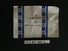Opel GT - OPEL-Schrift f. Kotflügel (Original Opel) NEU