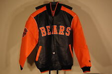 NFL CHICAGO BEARS  faux leather Jacket Size: L