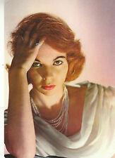 Carte vintage  carte photo acteur cinéma Françoise Arnoul