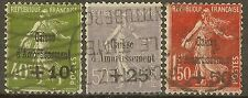 "FRANCE STAMP TIMBRE N° 275/277 ""CAISSE AMORTISSEMENT 5e SERIE 1931""OBLITERES TB"