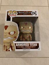"""Attack on Titan - Armored Titan 6"""" #234 Funko Pop Vinyl Figure RARE!"""