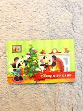 Disney Gift Card - MICKEY MINNIE MOUSE HOLIDAY CHRISTMAS no cash Value