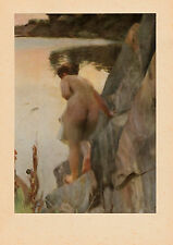 Anders Zorn, Nackte am See, Bild in Reproduktion,1957 Nordisk Rotogravyr Stockh.