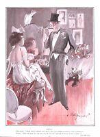 Press Agent.Actress.Theatre.Cartoon.Dog.Diamonds.Bert Thomas cartoon.1926