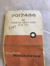 NOS GM 1960-1967 Chevrolet Pass. Truck Carburetor Float Torsion Springs #7017486