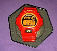 Vintage NEVER WORN G-Shock DW-6900 Bright Red Collectible Ultra Rare Watch