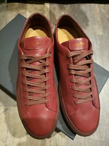 Good Man Brand Edge Sneakers Burgandy Leather Size 10.5 $198