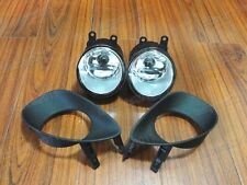Fog Lights Lamps+Covers Replacement Kits For Toyota Yaris 3DR 2006-2010