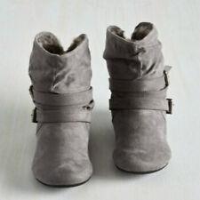 Damen Stiefel Winter Biker Ankle Boots Schuhe Stiefeletten Gefüttert Warm Shoes