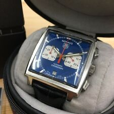 TAG HEUER MONACO Automatic Wrist Watch Lether Steve McQueen CW2113