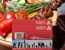 """MAGTI"" Georgia Registered SIM card micro/regular/nano Georgian Batumi, Tbilisi"
