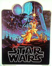 Original Vintage 1977 Classic Star Wars Iron On Transfer