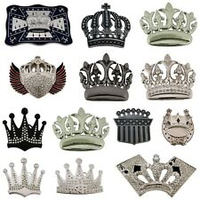 12 CROWN QUEEN BLING RHINESTONES BELT BUCKLE WHOLESALE LOT MIX US SELLER COWBOY.