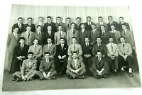 Hartwick College Oyaron Yearbook Photo 1940s Vintage Mens Fraternity 9x6 mb381
