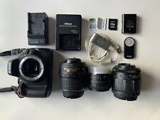 Nikon D5100 (Kit with Case, Lenses, & Accessories)