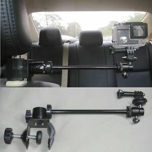 Headrest Mount for GoPro Video Camera, Camcorders, DV, Smartphones