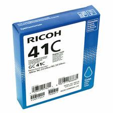 Original Ricoh Gel Print Cartridge GC-41C Cyan 405762 New Mhd 2019-2020