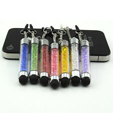 Lot 7×Mini Crystal Bling Stylus Touch Screen Pen For iPhone iPad Sumsung Tablet
