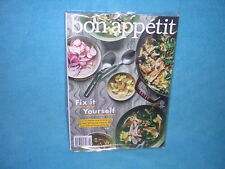 Bon Appetit Magazine October 2018 Fix It Yourself  FREE SHIPPING