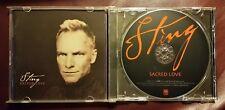Sting - Sacred Love CD 2003 A&M US 11trx Inside Dead Man's Rope Mary J. Blige EX
