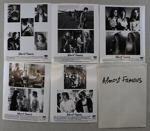 Almost Famous Movie Official 8x10 Press Photos (5) Kate Hudson Phillip Hoffman