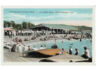 Kilbourn, WI Lake Delton Bathing Beach in the Lower Dells Postcard