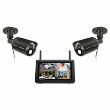 """Uniden UDR777HD Wireless Surveillance System with 7"""" MONITOR 2 1080P HD CAMERAS"""