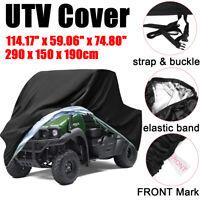 Waterproof Utility Vehicle UTV Cover 4x4 Protector For Kawasaki Mule 3000 3010