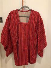 Made In Japan Silk Tunic, Haori | Red