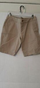 NWOT Faded Glory Chino Bermuda Women's Shorts Size 8