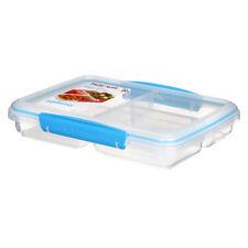 Sistema Multi Split para ir azul, caja de almuerzo Comida aperitivos en el camino trabajo escolar