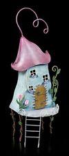 ELFOS METAL Casa - Tulip Manor - Fantasía Jardín Piso Decoración Hada