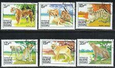 GUINEA-BISSAU SC #561-66 **CTO** 1984  CARNIVOROUS ANIMALS  SEE SCAN