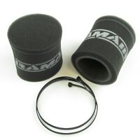 RAMAIR FILTER SOCKS PAIR (SHORT) WEBER DELLORTO THROTTLE BODIES BIKE CARBS