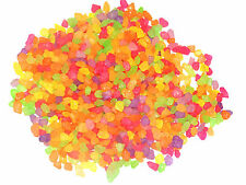 Quality aquarium water mix multi color florocent gravel 1kg|stone pebbles chips|