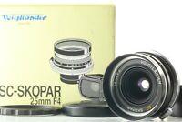 [Mint+++ in Box] Voigtlander SC Skopar 25mm f/4 Wide Angle Lens from Japan #633