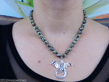 Halsketten mit Märchen- & Fantasie echten Edelsteinen aus Sterlingsilber