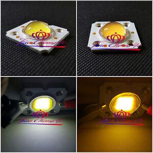1-10PCS 10W High Power COB LED Lamp Warm/cool white 1050mA+60-80 degree lens