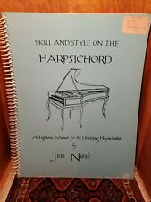 Skill and Style on the Harpsichord- Reference Manual by Jean Nandi