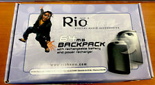 Used Rio 600 Digital Audio Player Blue 64Mb, Original Box & Contents & More