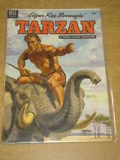 TARZAN #60 FN+ (6.5) EDGAR RICE BURROUGHS DELL COMICS SEPTEMBER 1954