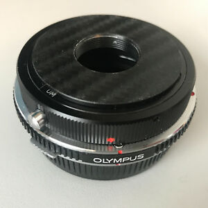Olympus OM Mount -RMS macrophoto adapter =3 mounts OM/RMS/M42 +7mm Extens. Tubes
