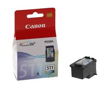 Canon CL511 Colour Genuine Original Ink Cartridge For PIXMA MP272 Inkjet Printer