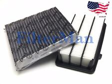 Engine&Carbonized Cabin Air Filter for 2017 HONDA CRV CR-V Free Fast Shipping