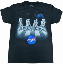 NASA Astronauts Walking On The Moon Adult T-Shirt -Space Shuttle, SpaceX, Astro