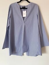 Theory Ladies Shirt Blue Size M RRP £285