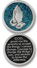 SERENITY Verse Coin GLITTER  PEWTER Token Keepsake Medal  Protection Devotional